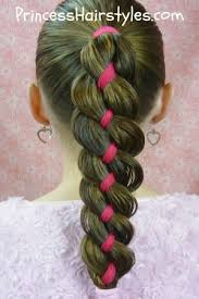 easy hairstyles with box fishtales ribbon braid such a cute hairstyle i have got to try that