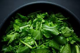 basic mustard greens recipe