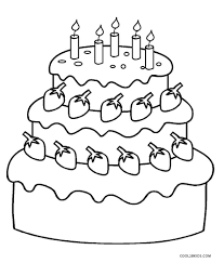 printable coloring pages birthday