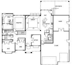 basement house floor plans rambler floor plans psion homes rambler floor plans plan 260