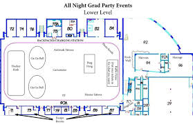 Umd Maps Map Of Activities Duluth East All Night Grad Party