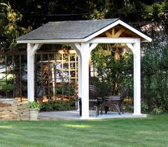 14x14 Outdoor Gazebo by Vinyl Pavilions Lykens Valley Gazebos And Outdoor Living Products