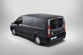 used peugeot vans toyota looks to psa peugeot citroen and fiat for its new proace lcv