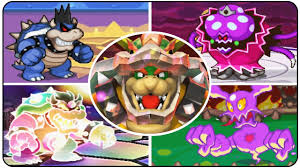 evolution final bosses mario u0026 luigi games