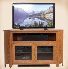 Corner Wood Tv Stands Oakwood Furniture Amish Furniture In Daytona Beach Florida