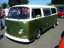 green volkswagen van great bay window vw bus coffee time cruising pinterest vw