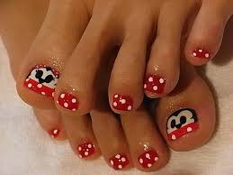 Mickey Mouse Nail Art Design Summer Toenail Design Ideas Chic Toe Nail Art Ideas For Summer
