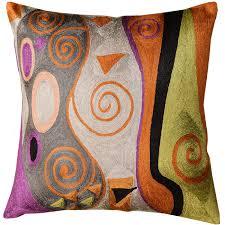 Square Sofa Pillows by Silk Modern Pillows Archives Kashmir Fine Arts U0026 Craftskashmir