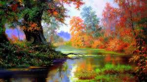 forests autumn forest colorful paintings love seasons attractions