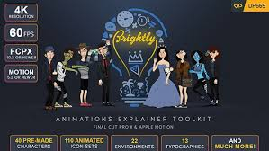 brightly animations explainer toolkit final cut pro x u0026 apple