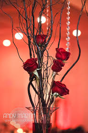 Red Roses Centerpieces Tall Red Rose Centerpiece Masquerade Wedding Pinterest Red