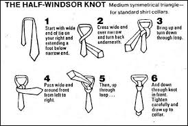 how to how to tie a half windsor knot tie fighter