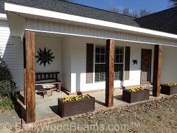 Decorative Wood Post Decorative Wood Porch Posts U0026 More Faux Wood Workshop
