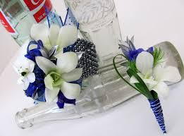 royal blue corsage worcester florists sprout february 2012