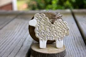 ceramic sheep ornament prodigal pottery