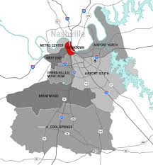 Map Of Nashville Tennessee by On Fire Nashville U0027s Office Market Continues To Heat Up During The