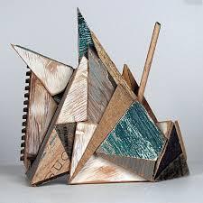 geometric wood sculpture 45 best ap 3d scrap wood sculpture images on wood