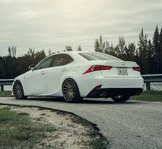 bronze lexus lexus is350 vossen vfs2 satin bronze