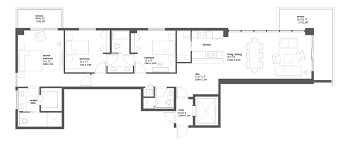 floorplan of a house bay house miami residences