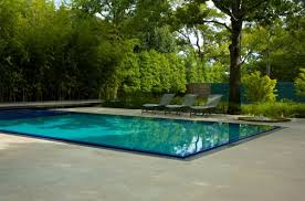 Lounge Chairs In Pool Design Ideas Rectangle Pool Designs That Will Give You Awesome Swimming