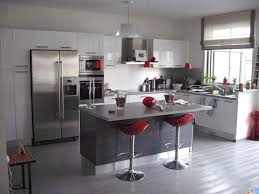 deco cuisine gris et blanc deco cuisine gris et blanc idee grise beautiful photos home within