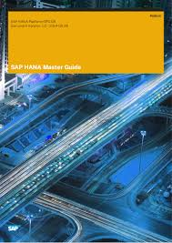 sap hana master guide