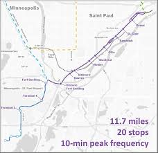 Light Rail Map Minneapolis Twin Cities Business Why The Riverview Corridor Streetcar Is