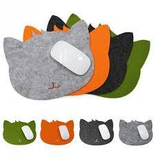 mousepad designen cat design anti slip laptop pc mice pad mat mousepad for optical