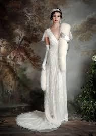 eliza jane howell u2013 elegant art deco inspired wedding dresses