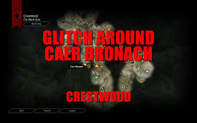 Crestwood Map Glitch Around Caer Bronach Crestwood Hd Dragon Age Inquisition
