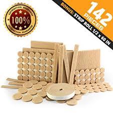amazon com teleon premium furniture felt pads set 142