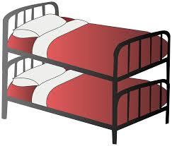clipart bunk bed clipartbold clipartix