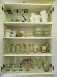how to add a shelf to a cabinet tips to a more organized kitchen cabinets drawers adding shelves i