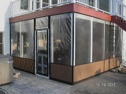 Outdoor Winter Curtains Winter Patio Enclosures Outdoor Enclosure For Clear Vinyl