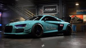 audi r8 modified need for speed payback build of the week 10 u2013 audi r8 v10 plus