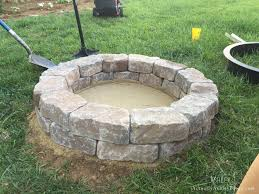 Firepit Bricks Decorating Diy Pit Plans Also Decorating Adorable Images 33