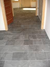flooring appealing slate tile entryway designs in running bond