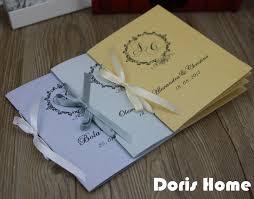 customized wedding programs aliexpress buy customized wedding program of events wedding