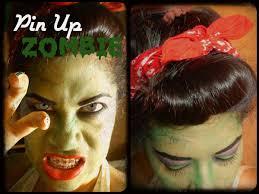 Maquillaje Para Halloween Pin Up Zombie Pin Up Zombie