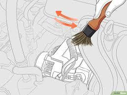 comment nettoyer des si es de voiture 3 ères de nettoyer un moteur de voiture wikihow