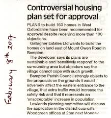 Planset by February 8th 2017 Controversial Housing Plan Set For Approval