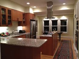 shaker oak cabinets new england kitchen remodel