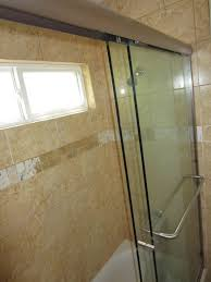 How To Install A Shower Door On A Bathtub Sliding Bi Pass Shower Door Patriot Glass And Mirror San Diego Ca