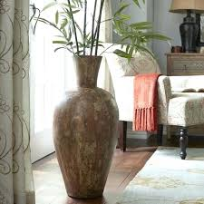 floor and decor ta large floor vase size of living glass floor vase ideas living
