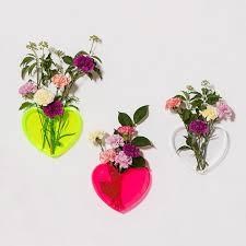Acrylic Flower Vases Acrylic Neon Heart Vases Rebecca Judd Loves U2013 Melbourne