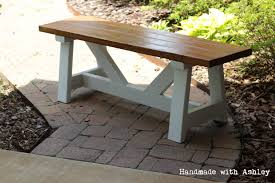 Picnic Table With Benches Plans Diy Providence Bench Plans By Ana White Handmade With Ashley