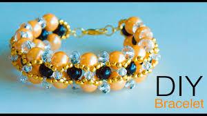 how to make pearl bracelet diy handmade pearl jewellery