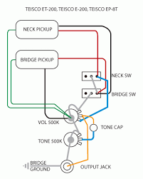 teisco wiring diagram bass guitar pickup wiring u2022 wiring diagrams