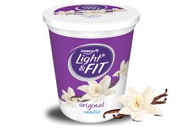 light and fit vanilla yogurt vanilla nonfat yogurt light fit