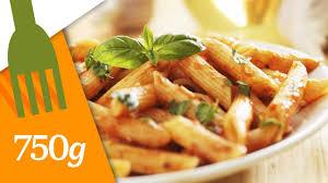 750 grammes recettes de cuisine recette de pâtes à la sauce tomate 750 grammes